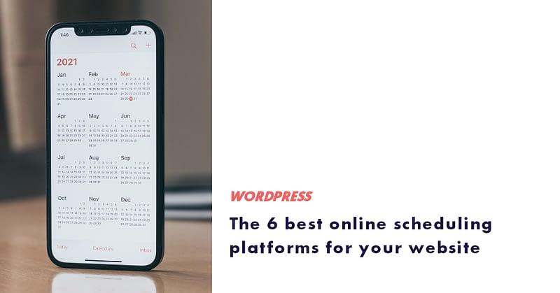 best online scheduling platforms
