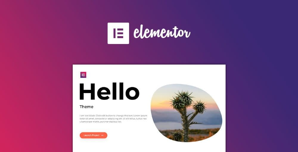 best theme for Elementor
