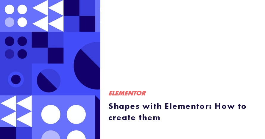 shapes with elementor