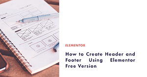 header and footer elementor free